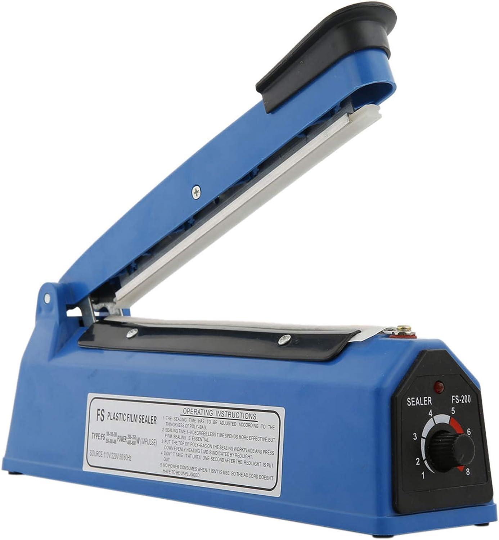 300W Plastic Heat Sealer Sealing Machine, US Standard, 12