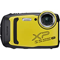 Fujifilm FinePix XP140 4K Ultra HD Camera (Yellow)