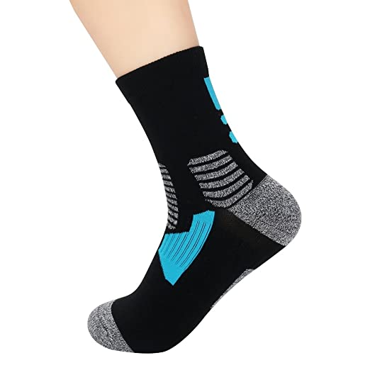 super popular b9eb4 2f9e0 Copper Antibacterial Athletic Ankle Socks for Men and Women Moisture  Wicking Socks,1 Pair