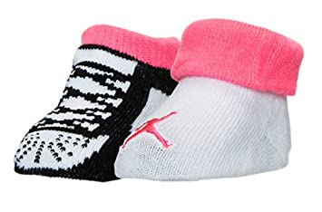 234dccde1862e Nike Michael Jordan 2 Paires de Chaussons 0-6 Mois  Amazon.fr ...