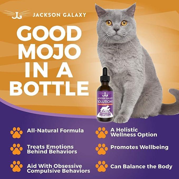 Amazon.com: Jackson Galaxy Soluciones Obsession Solución ...