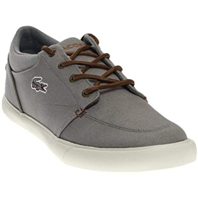 66c2ef1cf Lacoste Men s Bayliss Vulc 317 2 Grey Brown Shoe  Buy Online at Low ...
