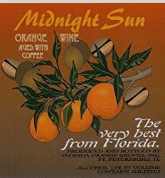 Florida Orange Groves Midnight Sun