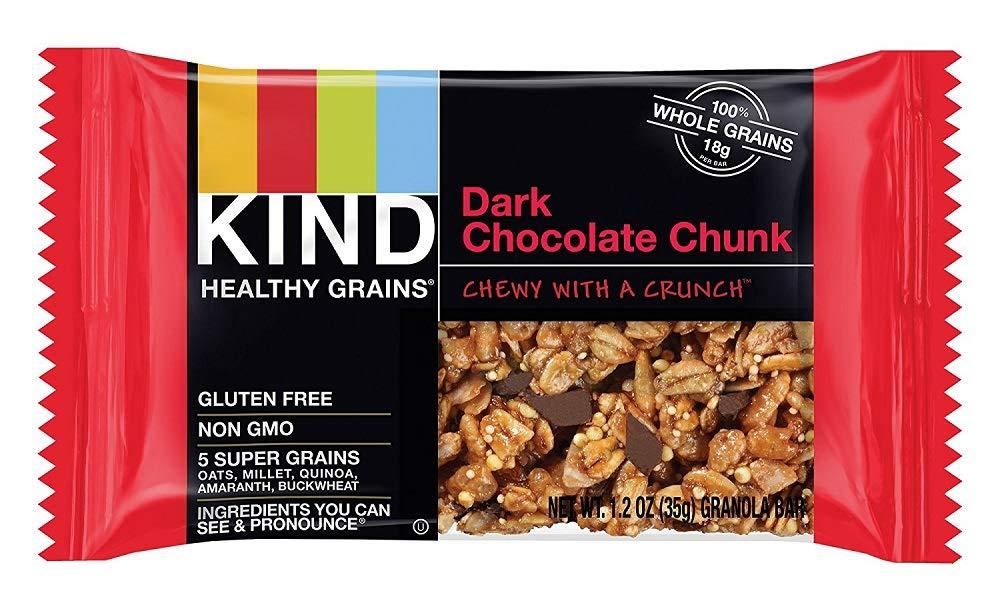 KIND Healthy Grains Granola Bars, Double Chocolate Chunk, 1.2 Oz (45 Bars)