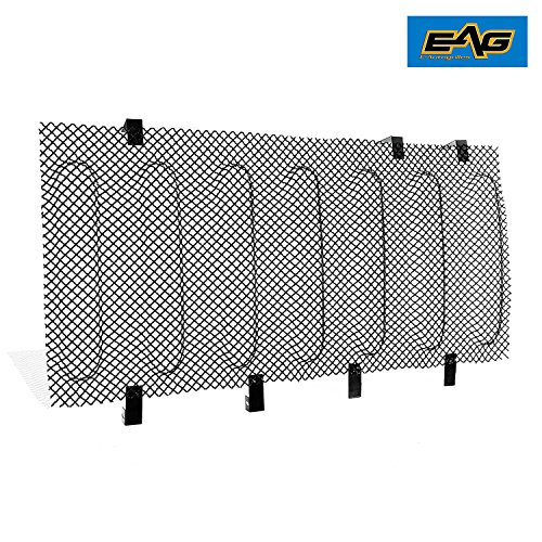 EAG 07-18 Jeep Wrangler JK Wire Mesh Grille Bug Screen (Stainless Steel)