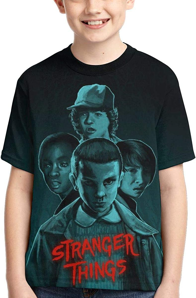 Stranger Kids Things Fan Tee for Boy Girl Black Magicuas Kid T Shirt