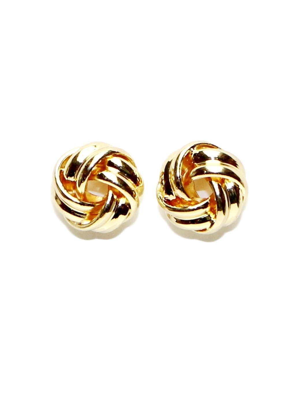 Surgical Stainless Steel Studs Earrings 11 MM Love-knot Men Women Ball Hypoallergenic Earrings