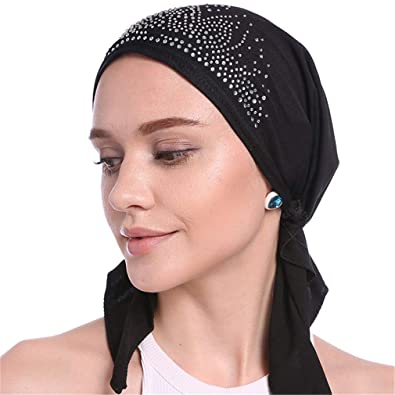Amazon.com: DARLING HER Headwrap Scarf Spring Trendy Style ...