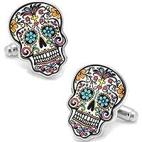 Small Details Day of The Dead Sugar Skulls Cufflinks