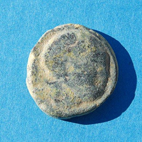 ES Spain Iberia Cunbaria Tuna #6 Coin Very Good