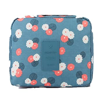 25fc2308d313 Amazon.com : Creazy Travel Portable Toiletry Wash Cosmetic Bag ...