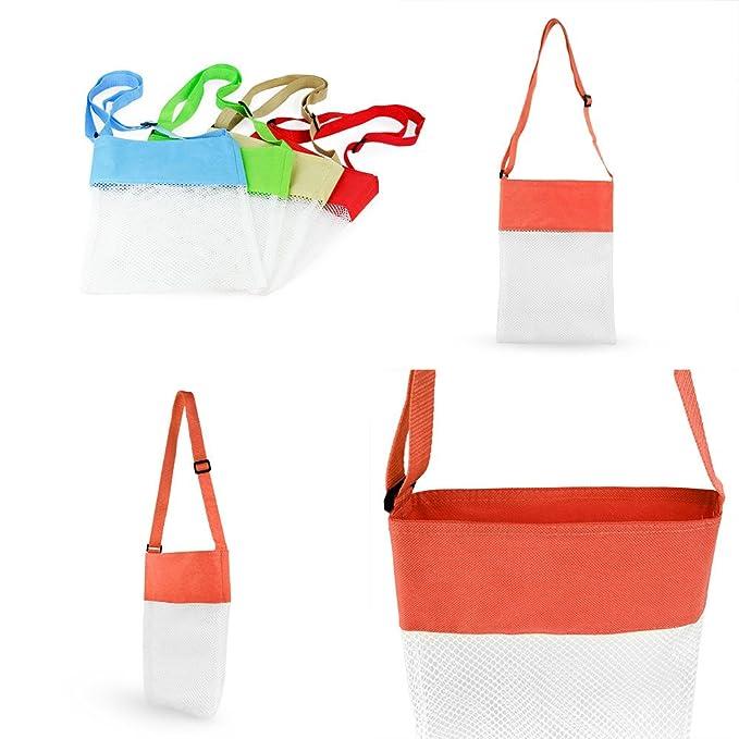 Mother & Kids Sport Outerdoor Beach Mesh Bag Pouch Sea Shell Storage Bag Fun Funny Gadgets Interesting Bath Toys For Children Birthday Gift Bibs & Burp Cloths