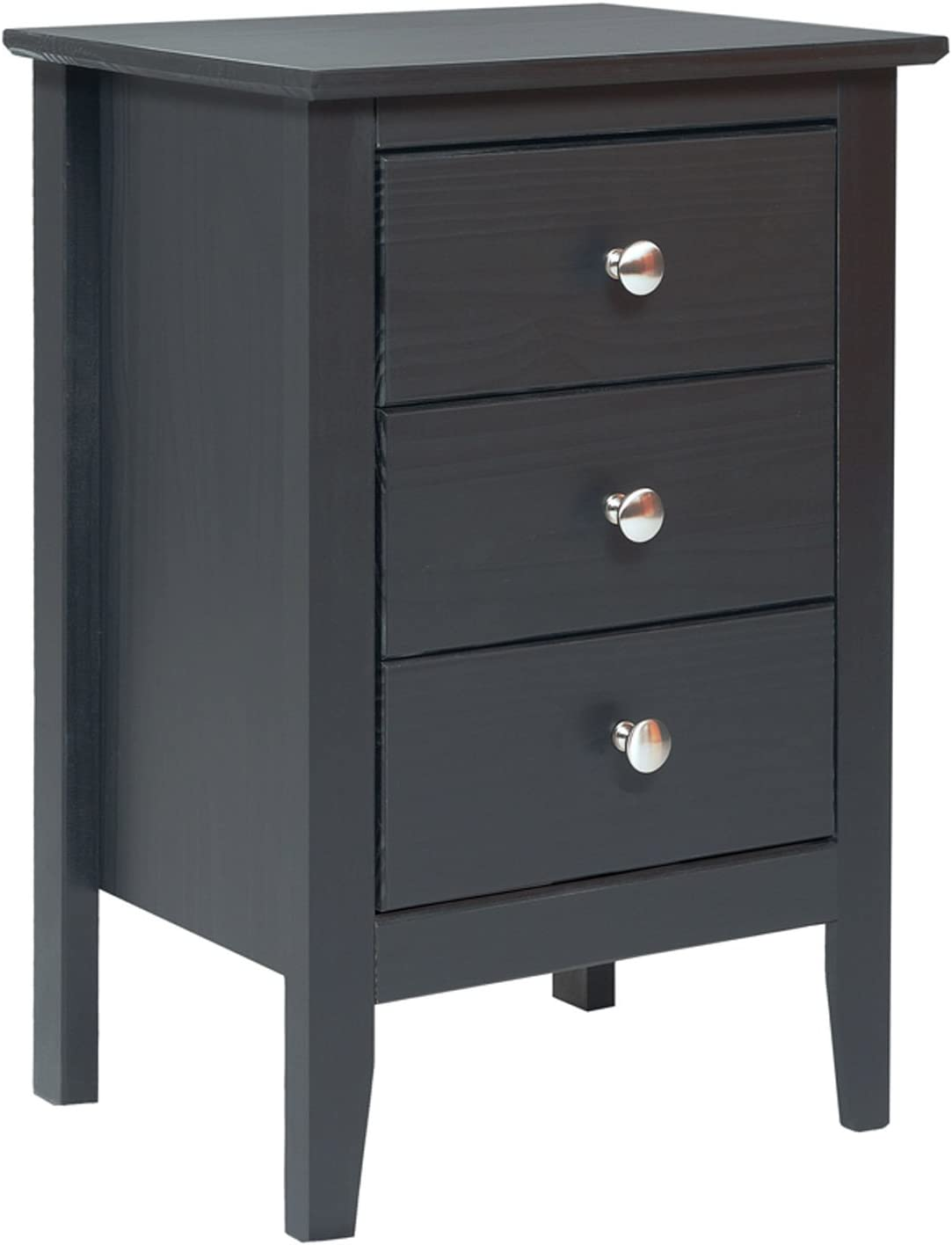 Adeptus 77245 Easy Pieces 3 Drawer End Table Nightstand 13 77 X 20 X 21 14 Furniture Decor
