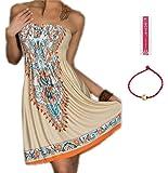 ACVIP Women's Bohemian Beach Dresses