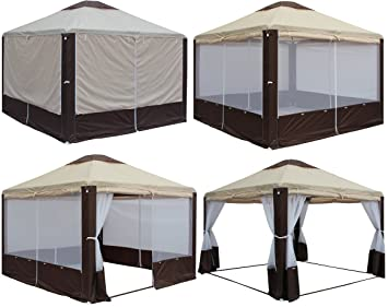 Waterproof Canopy Tent 10x10 for For C&ing Outdoor Wedding Party Patio Gazebo Garden! & Amazon.com : Waterproof Canopy Tent 10x10 for For Camping Outdoor ...