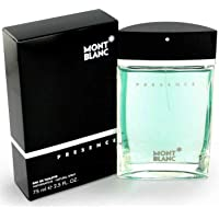 Mont Blanc Perfume  - Presence by Mont Blanc - perfume for men - Eau de Toilette, 75ml