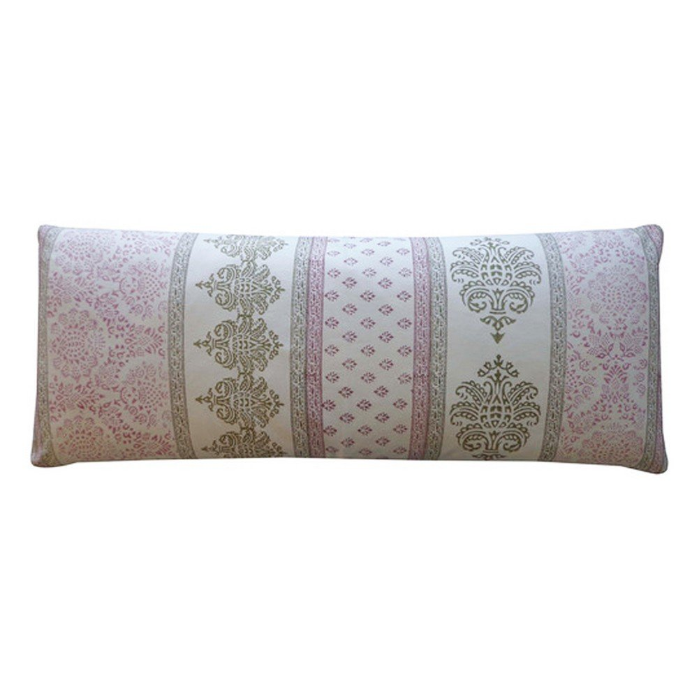 Vivai Home Wine Vertical Stamp Pattern Rectangle 16x 40 Feather Pillow