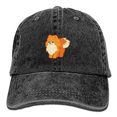 WAZH Classic Baseball Cap Kawaii Dog Cartoon Pomeranian Personal Group Snapback Hats by WAZH