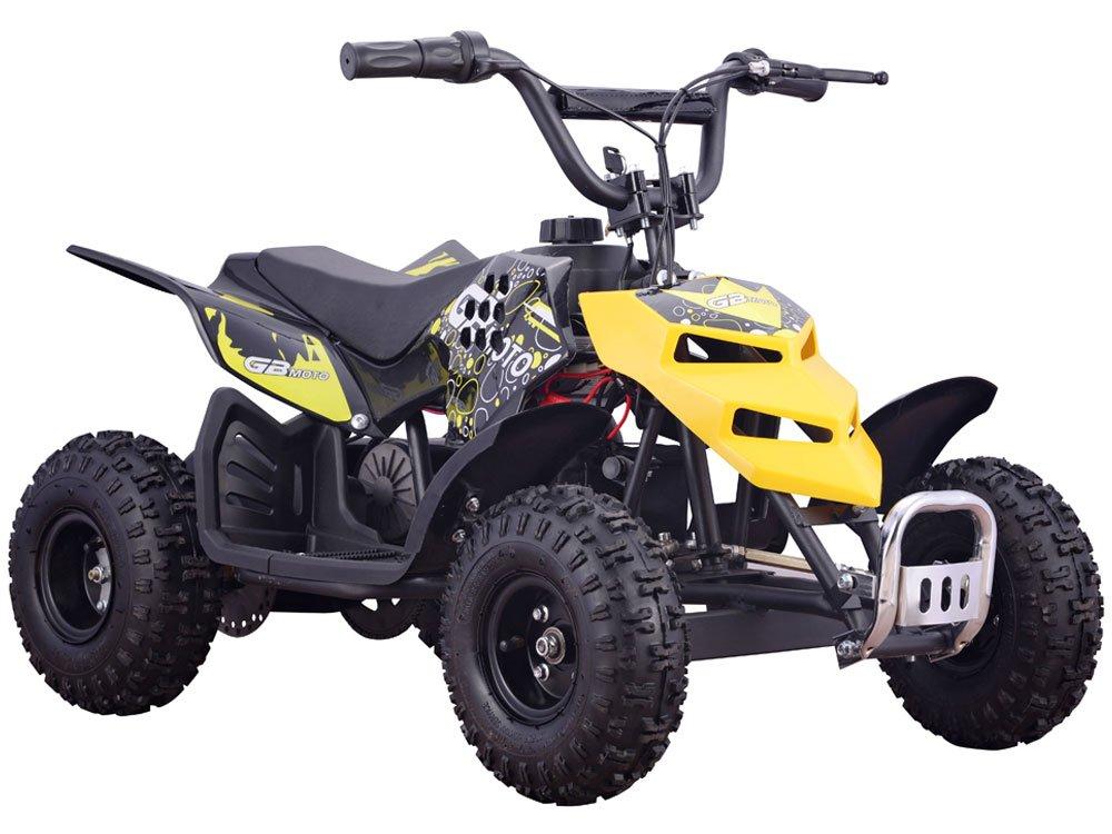 Mini Monster 24v 250w ATV Yellow by MotoTec