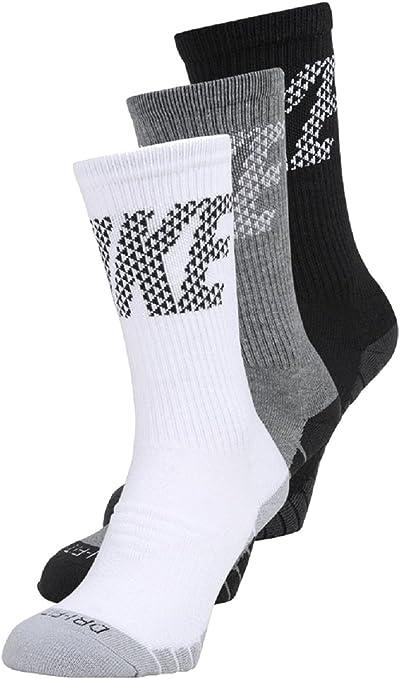 Nike - Performancedry Cushion Crew knurling 3 Pack - calze Sportive - Multicolor: Amazon.es: Deportes y aire libre