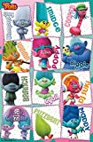 Trends International Trolls Grid Wall Poster 22.375' x 34'