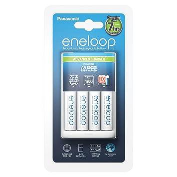Panasonic Eneloop SY3052296 - Cargador BQ-CC17 (Incluye 4 x AA)