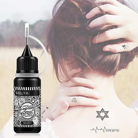 Goodevening Kit De Tatuajes Temporales Jugo Impermeable para ...