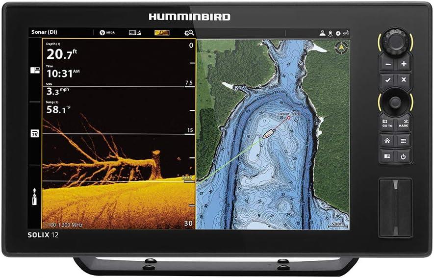 Humminbird Solix 12 Chirp MegaDI+ G2, No Xdcr: Amazon.es: Deportes ...