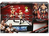 WWE Wrestling WWE Network Spotlight WrestleMania Exclusive Superstar Ring [Includes The Rock & Triple H]