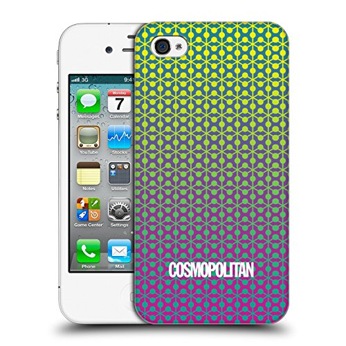 Official Cosmopolitan Ombre 6 Fun Summer Hard Back Case for Apple iPhone 4 / 4S