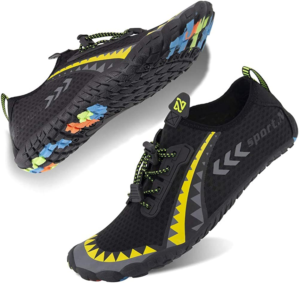 Boating Walking Hiking Water Shoes for Men and Women Barefoot Quick-Dry Aqua Sock Outdoor Athletic Sport Shoes for Kayaking Surfing