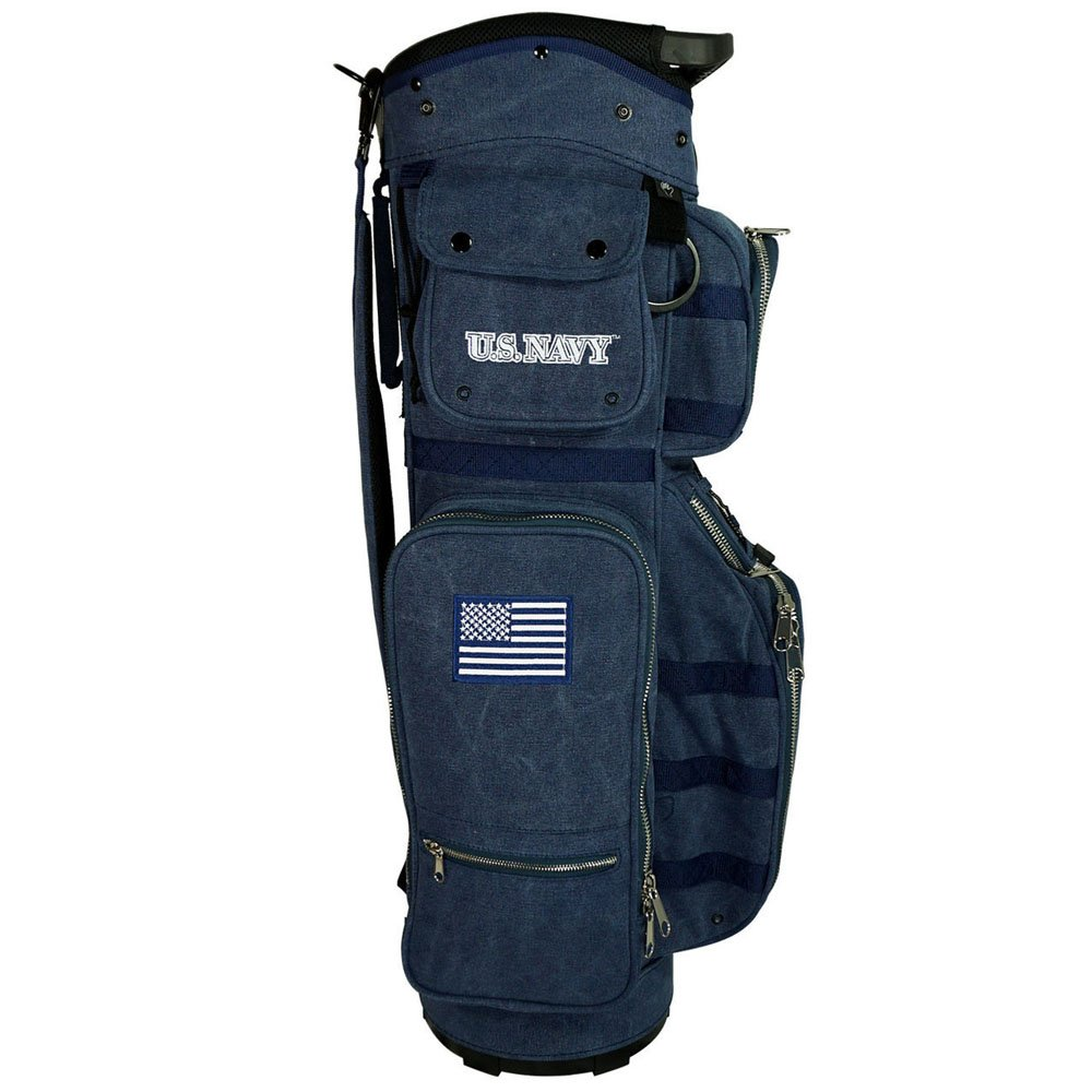 Amazon.com : Hot-Z Golf Active Duty Cart Bag Navy : Sports ...