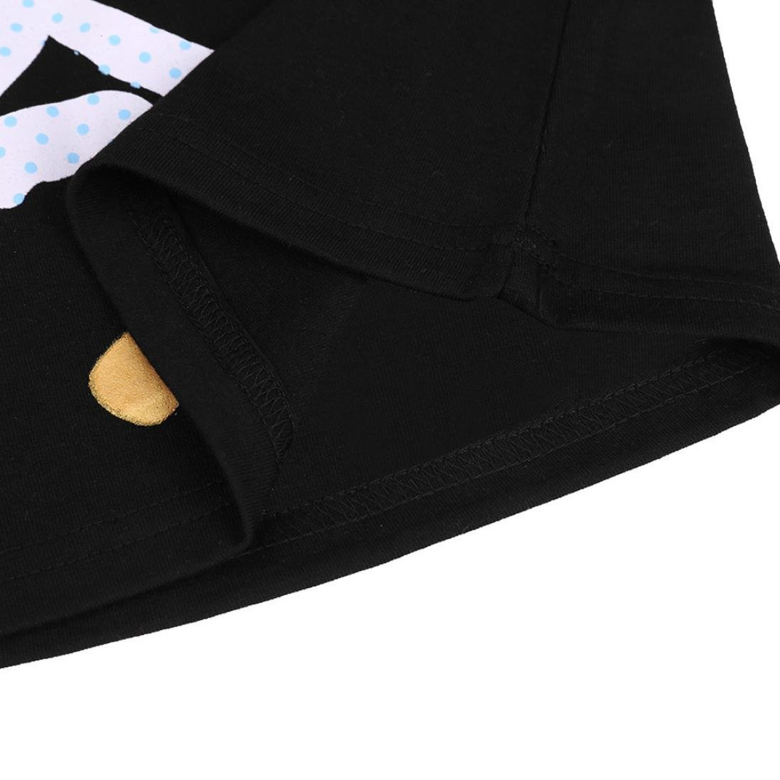 TiTCool Kids Girls Dress Casual Horse Stripe Long Sleeve Princess Picnic Size 0-6T