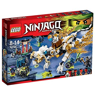 LEGO Ninjago 70734 Master Wu Dragon - Masters of Spinjitzu 2015: Toys & Games