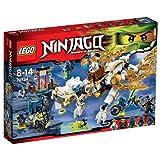 LEGO Ninjago - Playthèmes - 70734 - Jeu De Construction - Le Dragon De Maître Wu