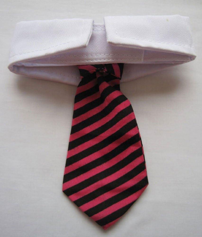 child wedding photo prop hot pink stripe childrens neck tie necktie toddler