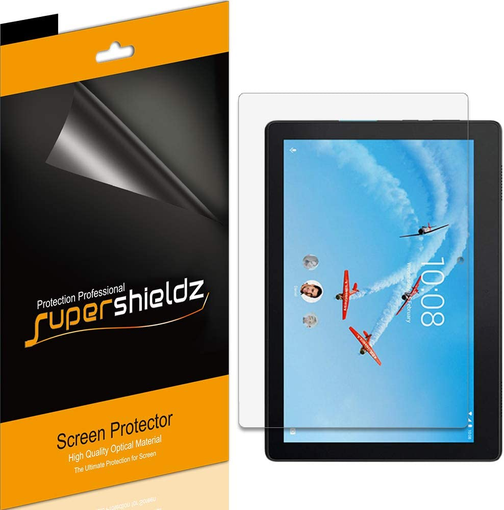 (3 Pack) Supershieldz for Lenovo Tab E10 (10.1 inch) Screen Protector, Anti Glare and Anti Fingerprint (Matte) Shield