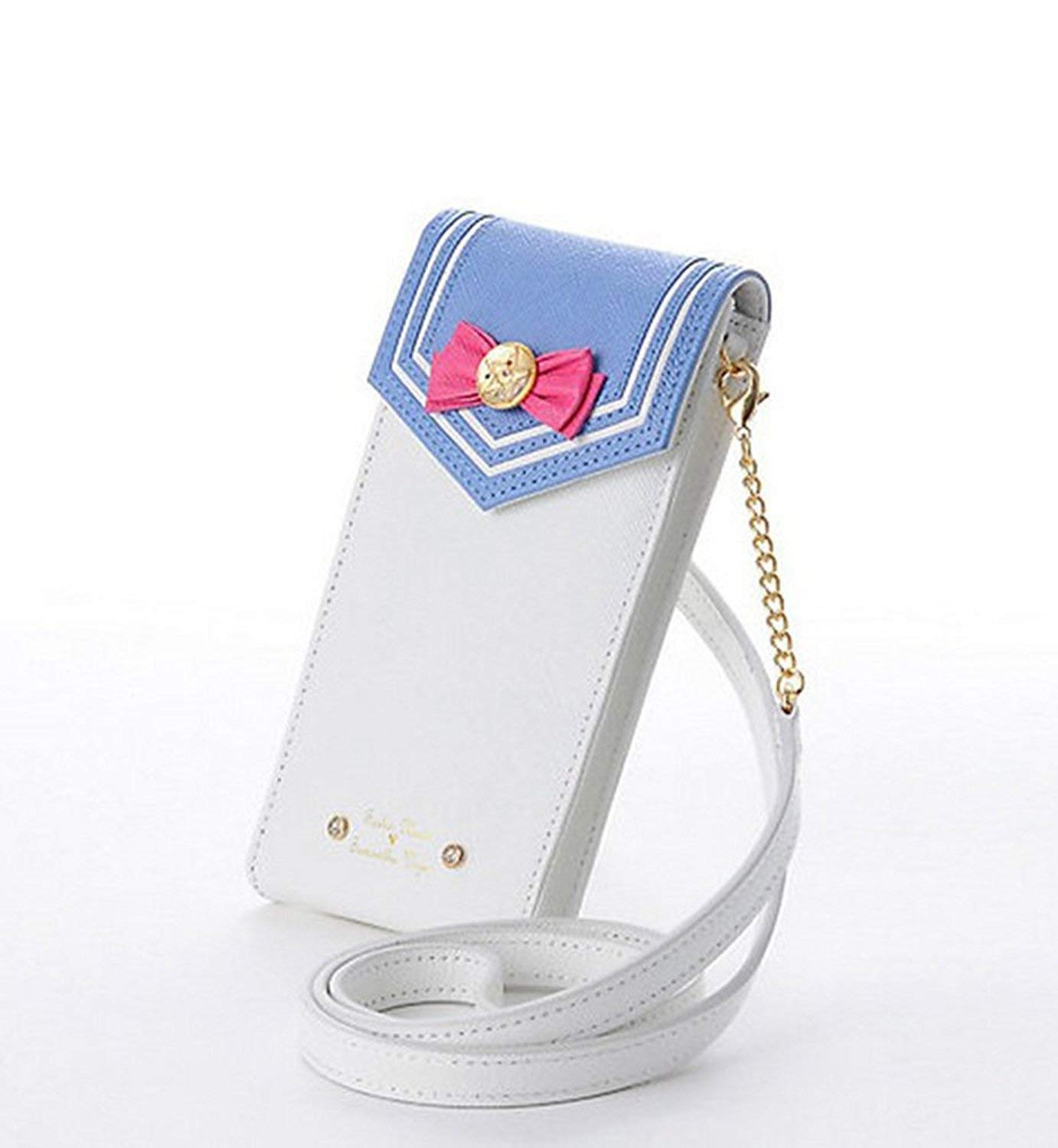Binghang Sailor Moon Cell Phone Case Wallet Cute Cross-Body Bag Leather Wallets for Women