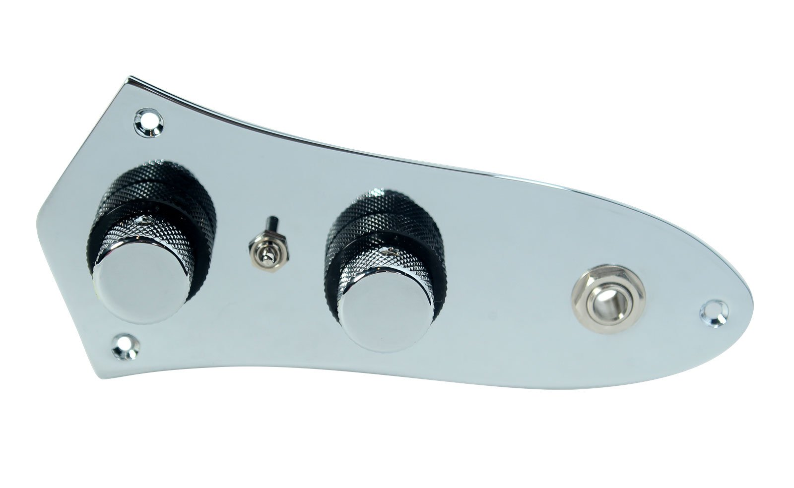 920D Fender '62 Jazz Bass Guitar Loaded Concentric Control Plate CHR/BK + Toggle by Custom Shop