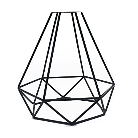 Vintage Pendant Light Frideko Retro Industrial Metal Iron Wire Cage
