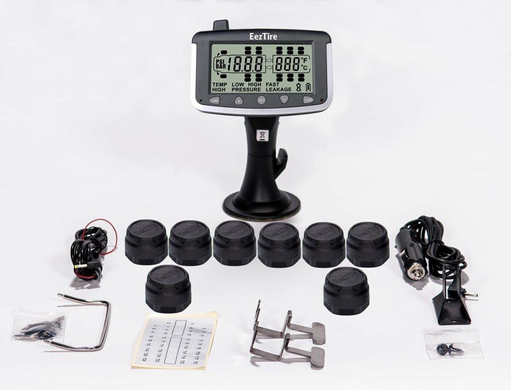 EEZTire Tire Pressure Monitoring System - 8 Sensors (TPMS)