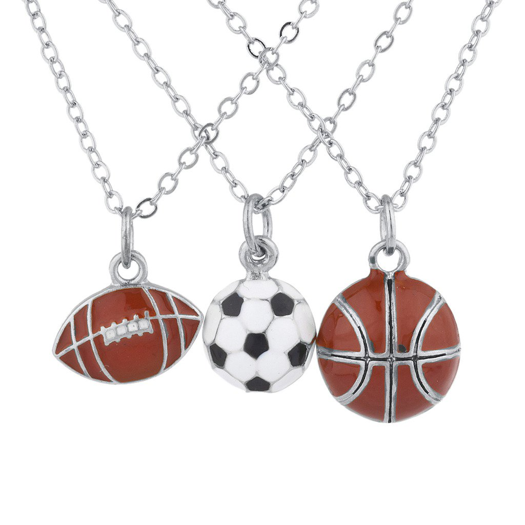 Lux Accessories - Collar con Colgante de balón de fútbol, Color ...