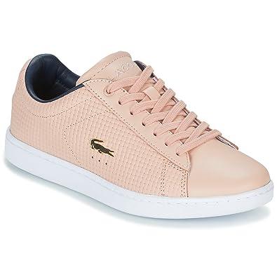 big sale a1b9b cf290 Lacoste Sneaker Carnaby Evo 118 5 Rosa: Amazon.de: Schuhe ...
