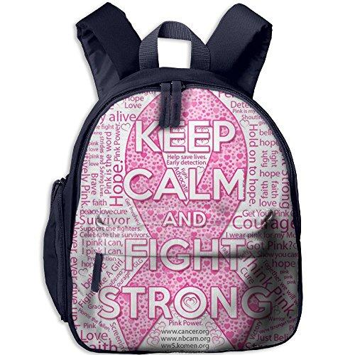 Billet Badge (Pink Ribbon Durable Book Bag Cute Animal Kid's School Daypack Fishing Boy Kindergarten Backpacks 12.5