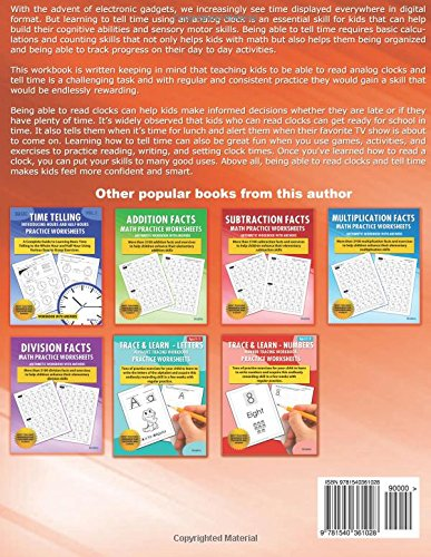 Time Telling - Introducing Quarters and Five Minutes - Practice ...