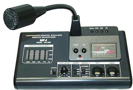 Amazon.com: mfj-299 Micrófono de sobremesa Consola: Musical ...