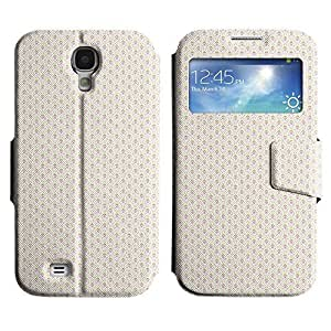 Be-Star Colorful Printed Design Slim PU Leather View Window Stand Flip Cover Case For Samsung Galaxy S4 IV / i9500 / i9505 / i9505G / SGH-i337 ( Pixelated Character ) Kimberly Kurzendoerfer