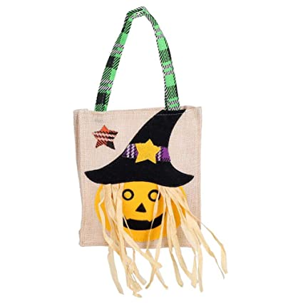 Zerodis Bolsas de Halloween Reutilizables para Dulces y ...