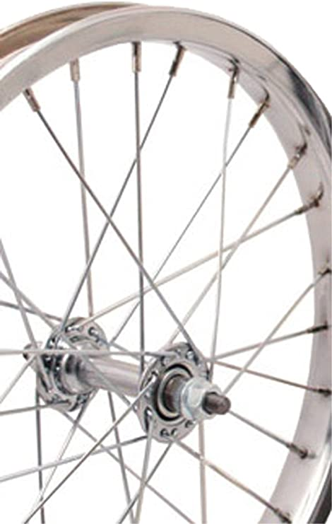 Sta-Tru 16 x 1.75 inch Front Steel Bicycle Wheel Chrome