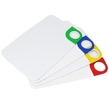 Guilty Gadgets - Juego de 4 Tablas de Cortar de plástico Extra ...